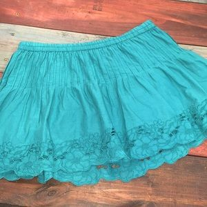 3 FOR $20 Aeropostale Teal Skirt Size Small